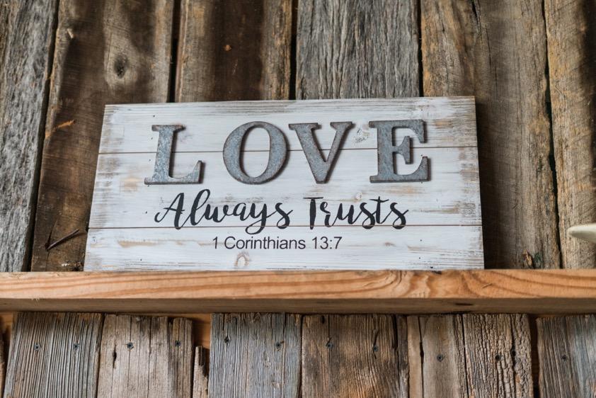 love always trusts